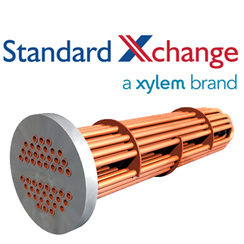ITT Standard Xchange B300S Replacement Tube Bundle For Steam Service
