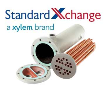 ITT Standard Xchange B300W Complete Heat Exchanger for Liquid Service