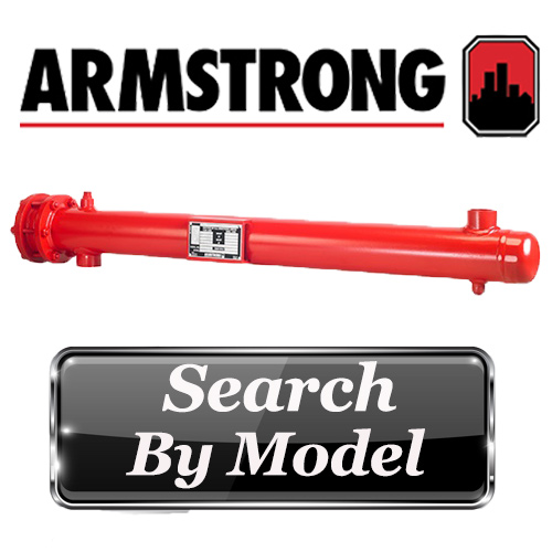 Armstrong Water to Water U-Tube Heat Exchanger
